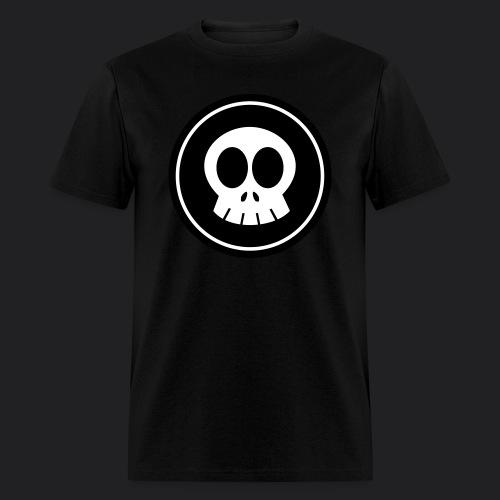 SkullSpace Logo - White - Men's T-Shirt
