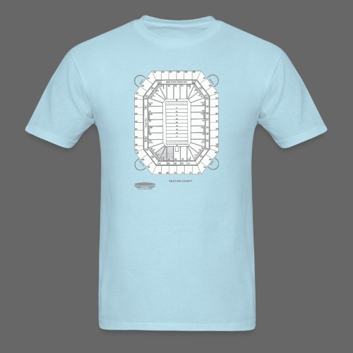 Pontiac Silverdome Tribute Shirt - Men's T-Shirt