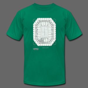 Pontiac Silverdome Tribute Shirt - Men's T-Shirt by American Apparel