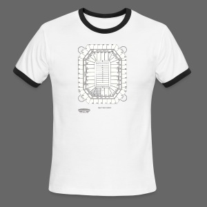 Pontiac Silverdome Tribute Shirt - Men's Ringer T-Shirt