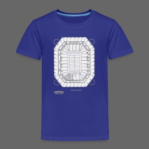 Pontiac Silverdome Tribute Shirt - Toddler Premium T-Shirt