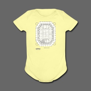 Pontiac Silverdome Tribute Shirt - Short Sleeve Baby Bodysuit