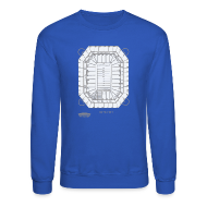 Long Sleeve Shirts ~ Crewneck Sweatshirt ~ Pontiac Silverdome Tribute Shirt