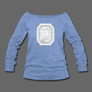 Pontiac Silverdome Tribute Shirt - Women's Wideneck Sweatshirt