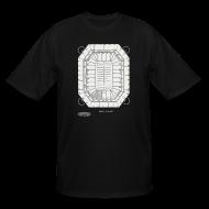 T-Shirts ~ Men's Tall T-Shirt ~ Pontiac Silverdome Tribute Shirt