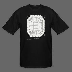 Pontiac Silverdome Tribute Shirt - Men's Tall T-Shirt