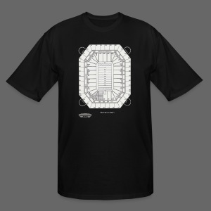 Pontiac Silverdome Tribute Shirt - Men's Tall T-Shirt