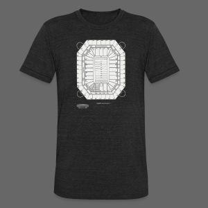 Pontiac Silverdome Tribute Shirt - Unisex Tri-Blend T-Shirt