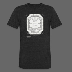 Pontiac Silverdome Tribute Shirt - Unisex Tri-Blend T-Shirt by American Apparel