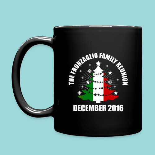 Fronzaglio Family Reunion Black Coffee Mug - Full Color Mug
