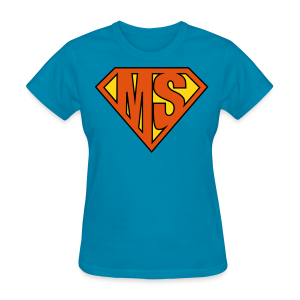 MS Superhero - Women's T-Shirt - Women's T-Shirt