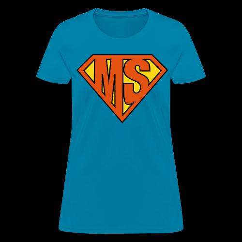 MS Superhero - Women's T-Shirt - Women's T-Shirt