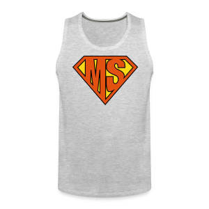 MS Superhero - Men's Tank - Men's Premium Tank