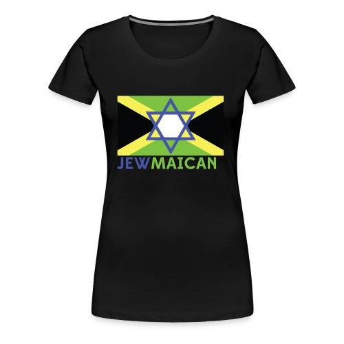 Women's Black Jewmaican Tank Top - Women's Premium T-Shirt