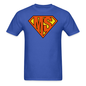 MS Superhero - Men's T-Shirt - Men's T-Shirt