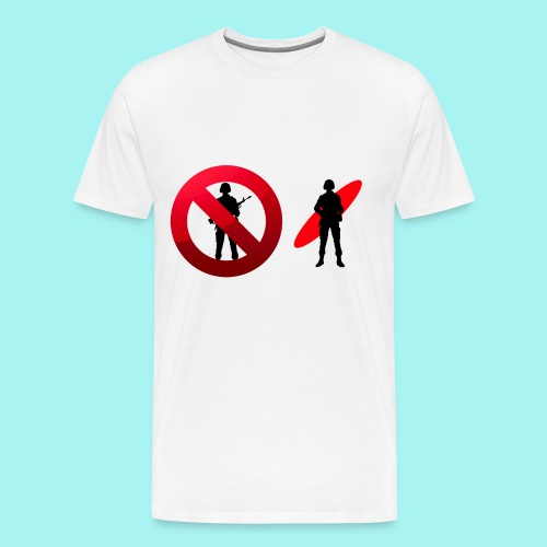Go Surf Not War - Men's Premium T-Shirt