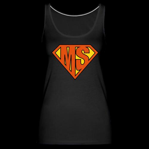 MS Superhero - Women's Tank - Women's Premium Tank Top