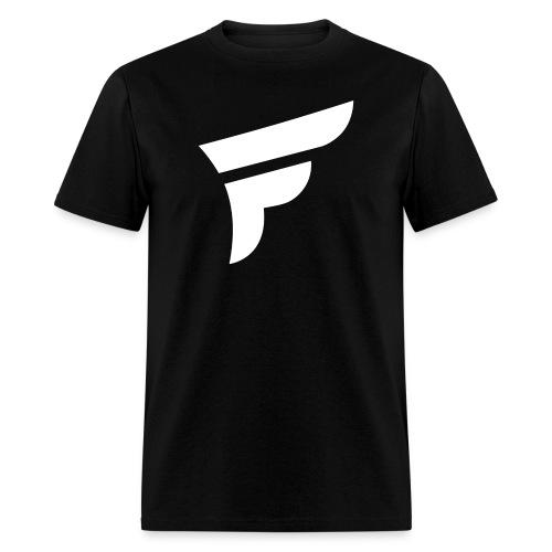 White Logo - Men's T-Shirt