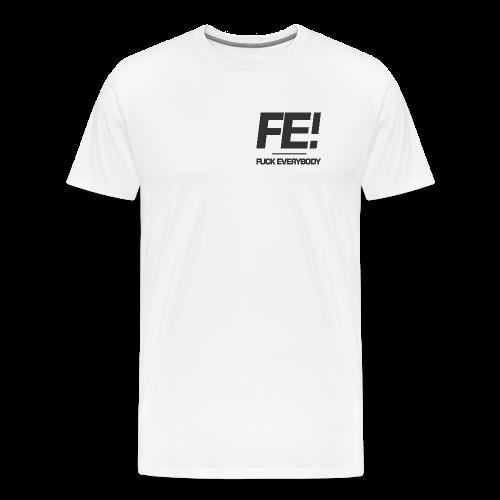 FE! Pocket Print - Men's Premium T-Shirt