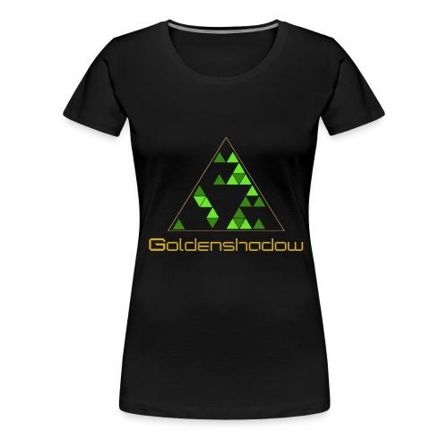 Golden T-shirt (Womens) - Women's Premium T-Shirt