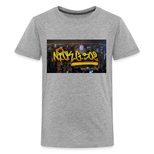 kl;hjlhj - Kids' Premium T-Shirt