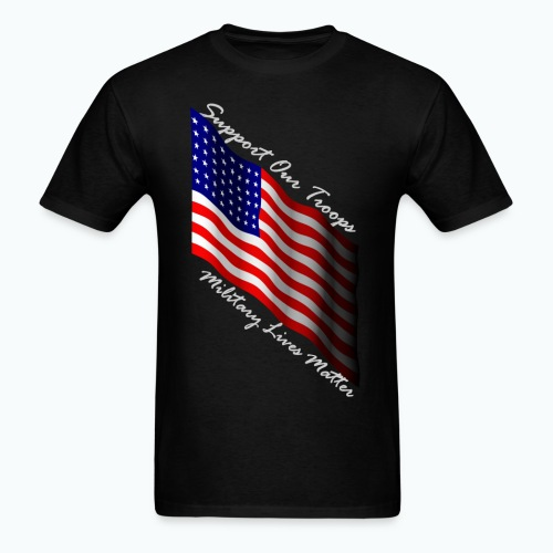 military lives matter, Men's T-Shirt - Men's T-Shirt