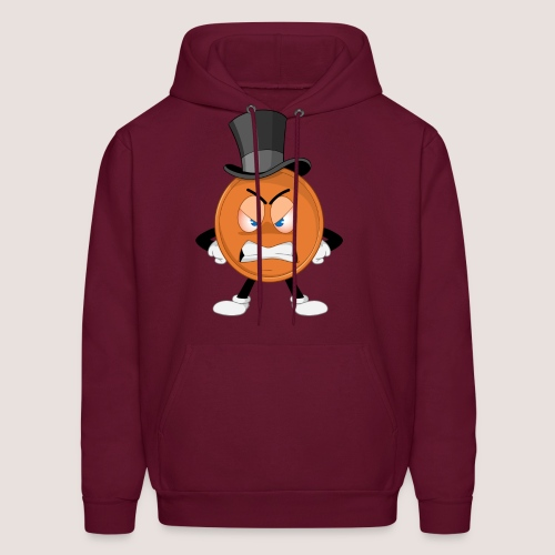 Angry Penny Hoodie, No Text - Men's Hoodie