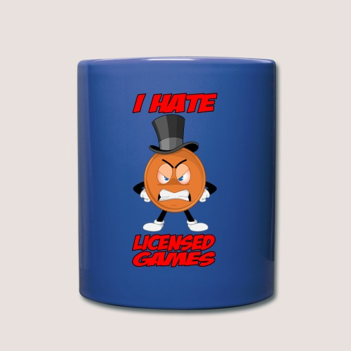 Full Color Angry Penny Mug, w/ Text - Full Color Mug