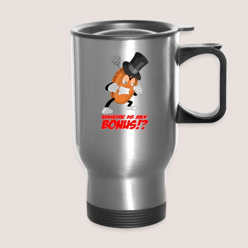 NO BONUS Penny Travel Mug, w/ Text - Travel Mug