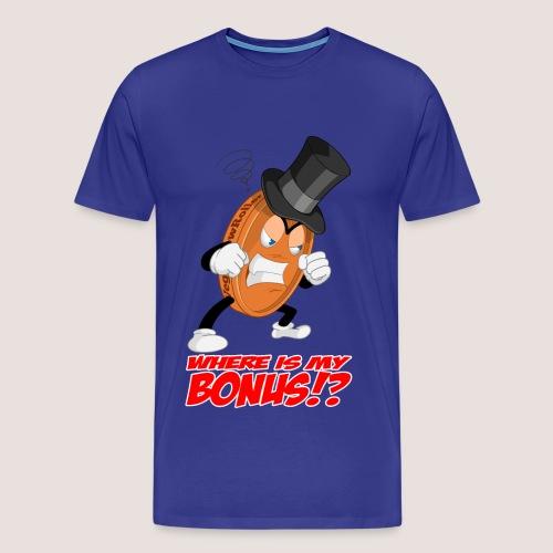 Men's Big & Tall NO BONUS Penny Tee, w/ Text - Men's Premium T-Shirt