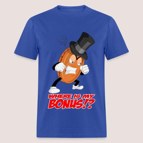 Men's NO BONUS Penny Tee, w/ Text - Men's T-Shirt