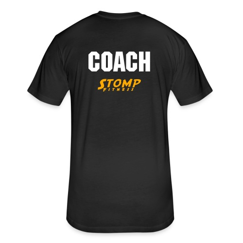 Stomp - Coach Trent Shirt - Fitted Cotton/Poly T-Shirt by Next Level