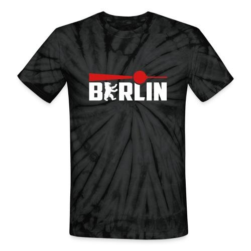 Berlin Bear Tv Tower - Unisex Tie Dye T-Shirt