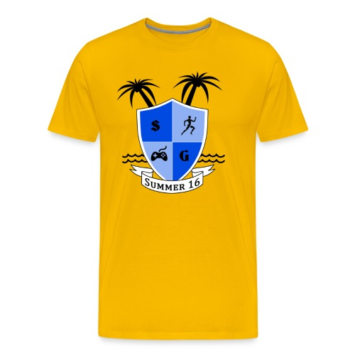 Summer Yellow - Men's Premium T-Shirt
