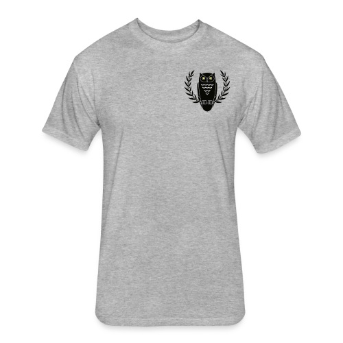 Drake Owl Fitted Shirt - Fitted Cotton/Poly T-Shirt by Next Level