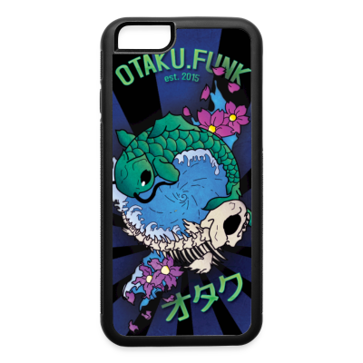 Fish-Fu YinYang 6/6s IPhone Case - iPhone 6/6s Rubber Case