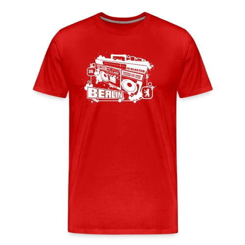 Berlin Ghettoblaster - Men's Premium T-Shirt