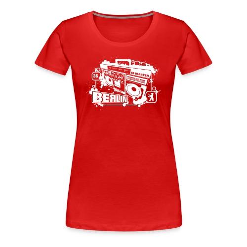 Berlin Ghettoblaster - Women's Premium T-Shirt