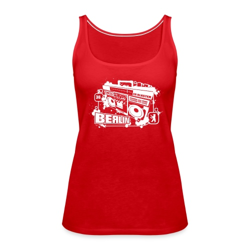 Berlin Ghettoblaster - Women's Premium Tank Top