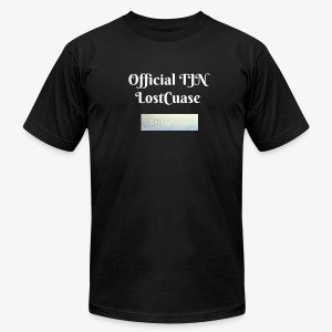 Official TJN LostCause  - Men's T-Shirt by American Apparel