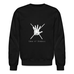 Cave of Shadows Hand Symbol Crewneck Sweatshirt - Crewneck Sweatshirt
