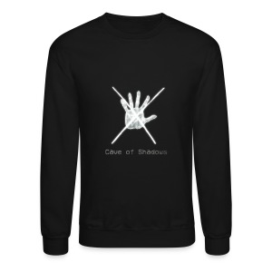 Cave of Shadows Hand Symbol Crewneck Sweatshirt - Crewneck Sweatshirt