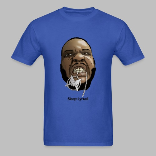 Blue Sleep Decap - Men's T-Shirt
