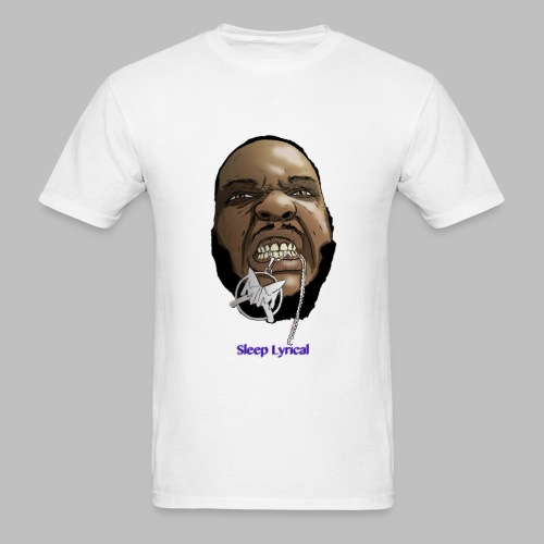 White Sleep Decap - Men's T-Shirt