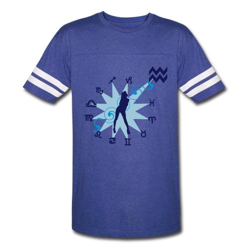 Sport T-Shirt Aquarius - Vintage Sport T-Shirt
