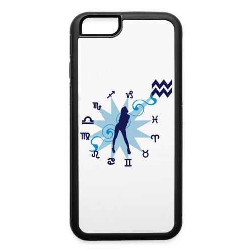 Case for Aquarius - iPhone 6/6s Rubber Case