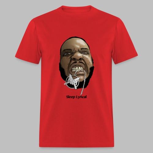 Red Sleep Decap - Men's T-Shirt