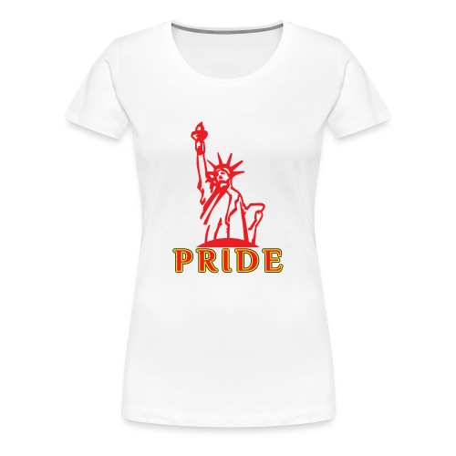 Lady Liberty T-Shirts Pride - Women's Premium T-Shirt