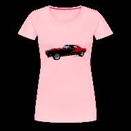 T-Shirts ~ Women's Premium T-Shirt ~ Camaro SS Lady Tee