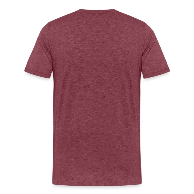 """T-shirt premium pour homme """"CHU DE BONNE HUMEUR"""""""